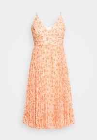 Forever New Petite - PLEATED MAXI DRESS - Sukienka koktajlowa - orange - 4
