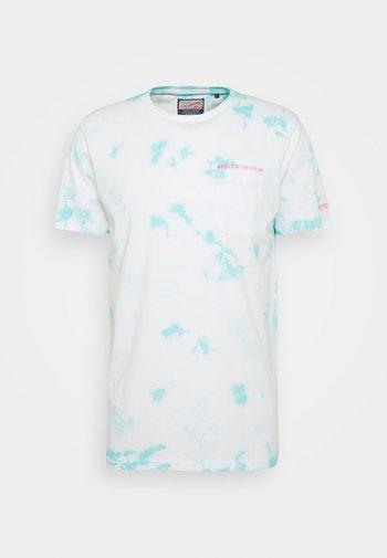Print T-shirt - frosty blue