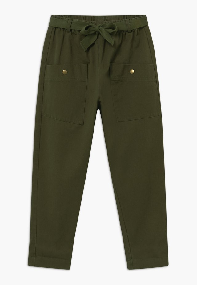 GABY - Trousers - ivy green