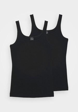 TEENS TOPS 95/5 2 PACK - Undershirt - schwarz