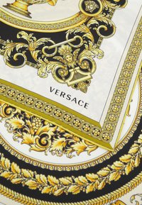 Versace - BAROCCO MOSAIC FOULARD UNISEX - Šátek - bianco/oro/kaki - 4