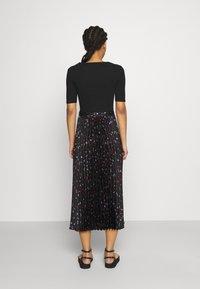 maje - Maxi dress - black - 2