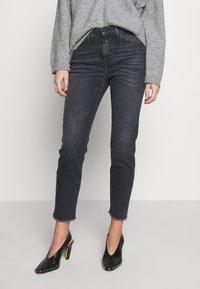 CLOSED - BAKER HIGH - Slim fit jeans - dark grey - 0