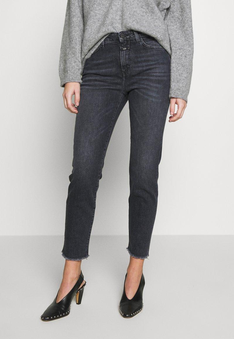 CLOSED - BAKER HIGH - Slim fit jeans - dark grey