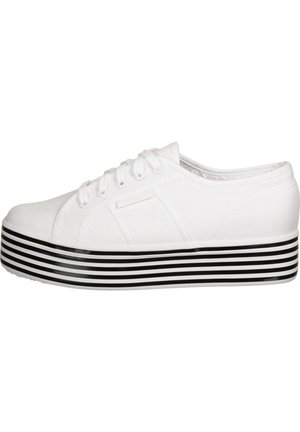 SCHUHE 2790 MULTICOLOR COTW - Sneaker low - white black white stripes