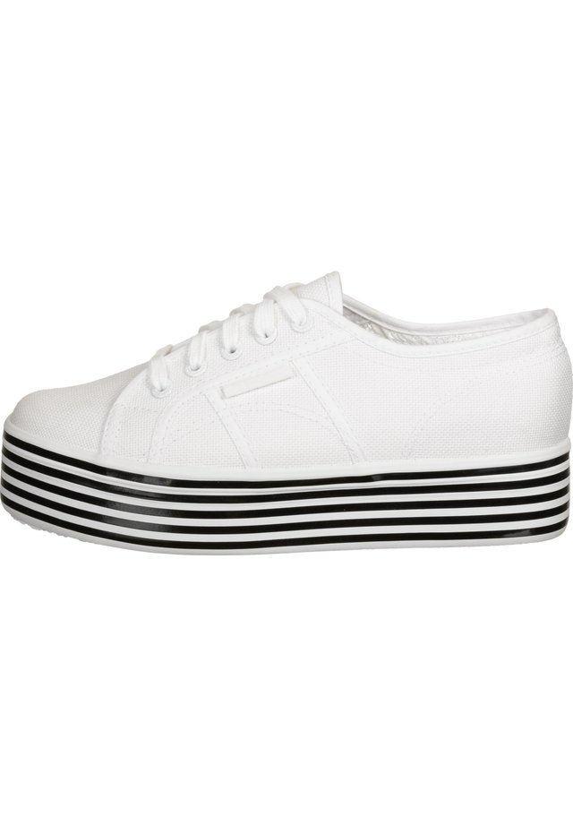 SCHUHE 2790 MULTICOLOR COTW - Sneakers laag - white black white stripes