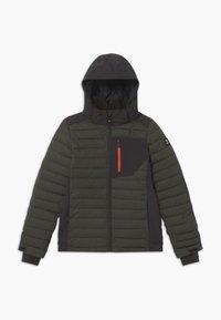 Brunotti - TRYSAIL BOYS - Snowboardová bunda - pine grey - 0