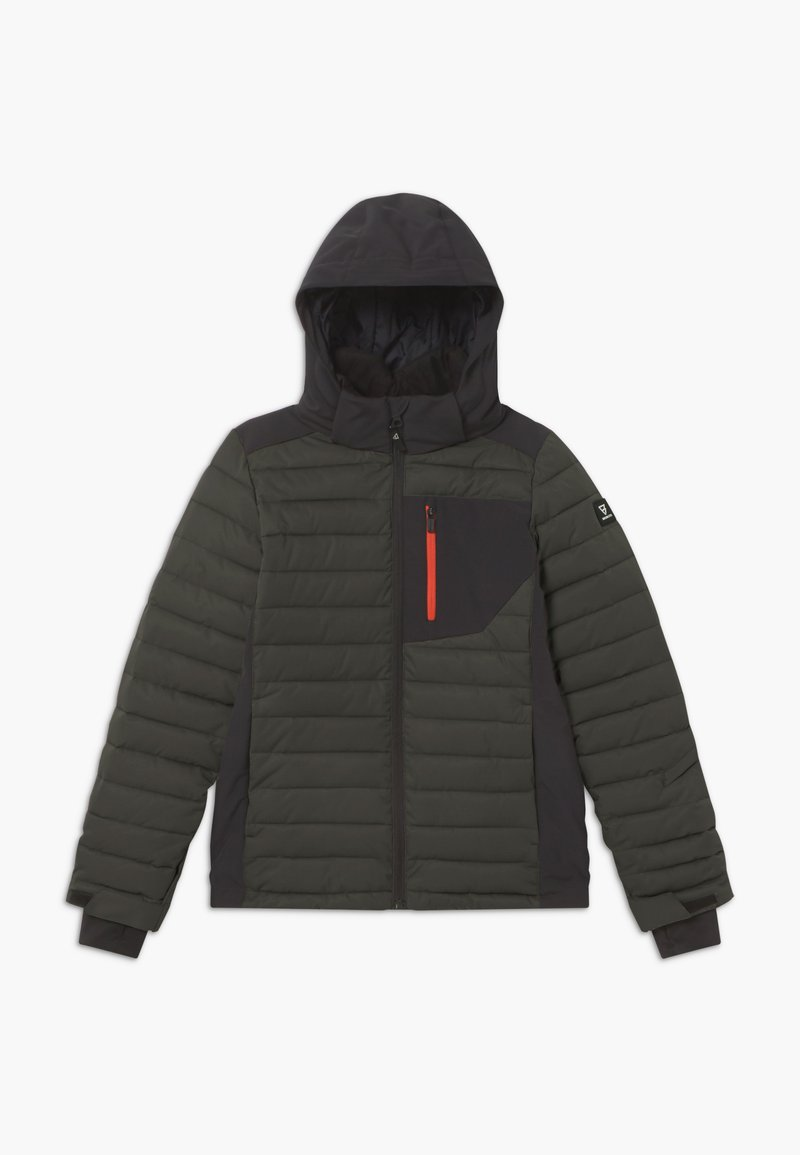 Brunotti - TRYSAIL BOYS - Snowboardová bunda - pine grey