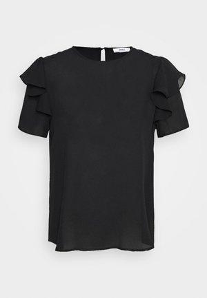 ONLLAVIN FLOUNCE - Blouse - black