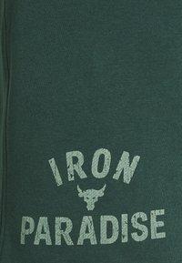 Under Armour - ROCK IRON SHORT - Pantaloncini sportivi - ivy - 5