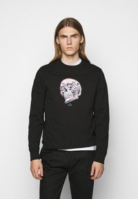 PS Paul Smith - MENS REGULAR FIT SKULL - Sweatshirt - black/multi-coloured - 0