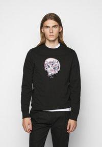 PS Paul Smith - MENS REGULAR FIT SKULL - Sweater - black/multi-coloured - 0