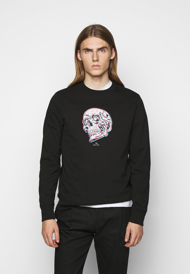 MENS REGULAR FIT SKULL - Felpa - black/multi-coloured