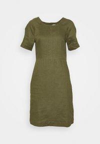 ESSENTIAL - Day dress - burnt olive