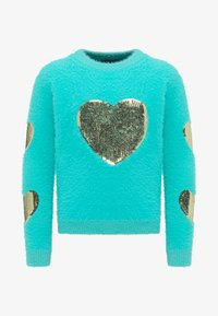 myMo KIDS - Jumper - turquoise - 0