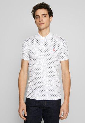SHORT SLEEVE - Koszulka polo - white