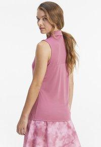 Puma Golf - ROTATION SLEEVELESS - Sports shirt - rose wine - 2