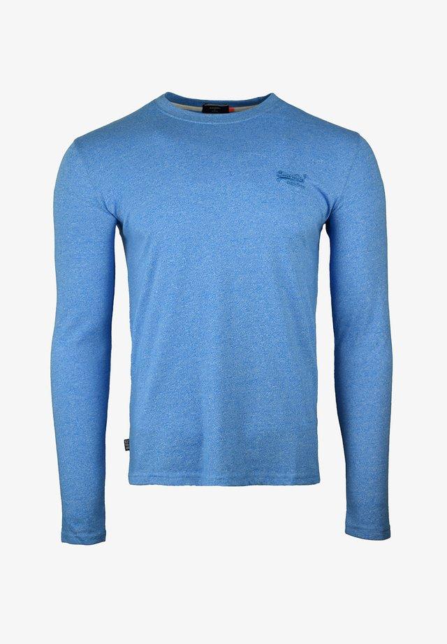 Longsleeve - bright blue grit
