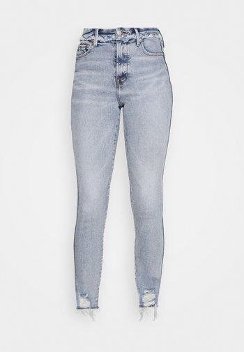 GOOD CURVE CHEW - Skinny džíny - blue
