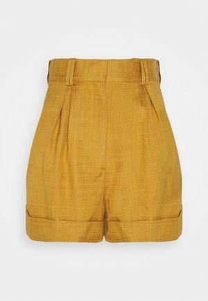 AARON - Shorts - ocre