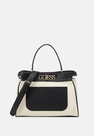 UPTOWN CHIC SATCHEL - Handbag - black