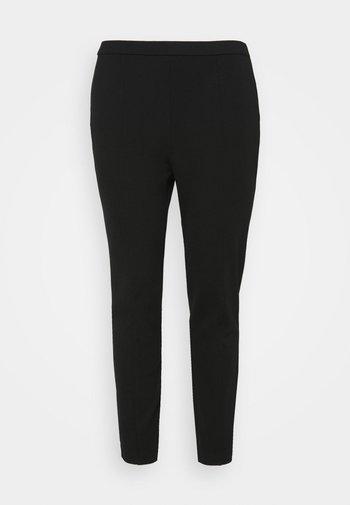 SANDRA PULL ON PANT - Trousers - black