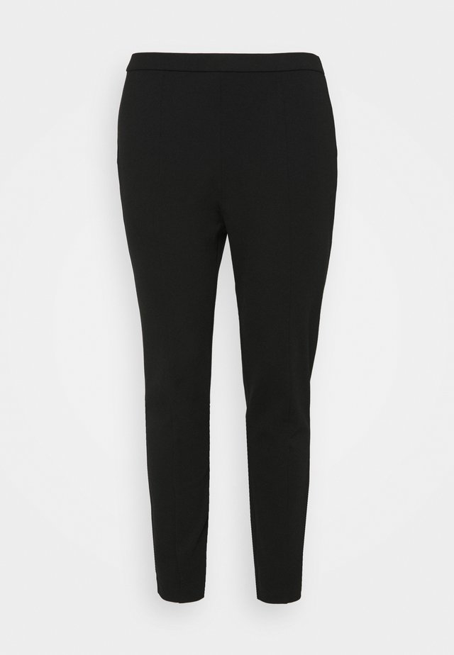 SANDRA PULL ON PANT - Trousers - black
