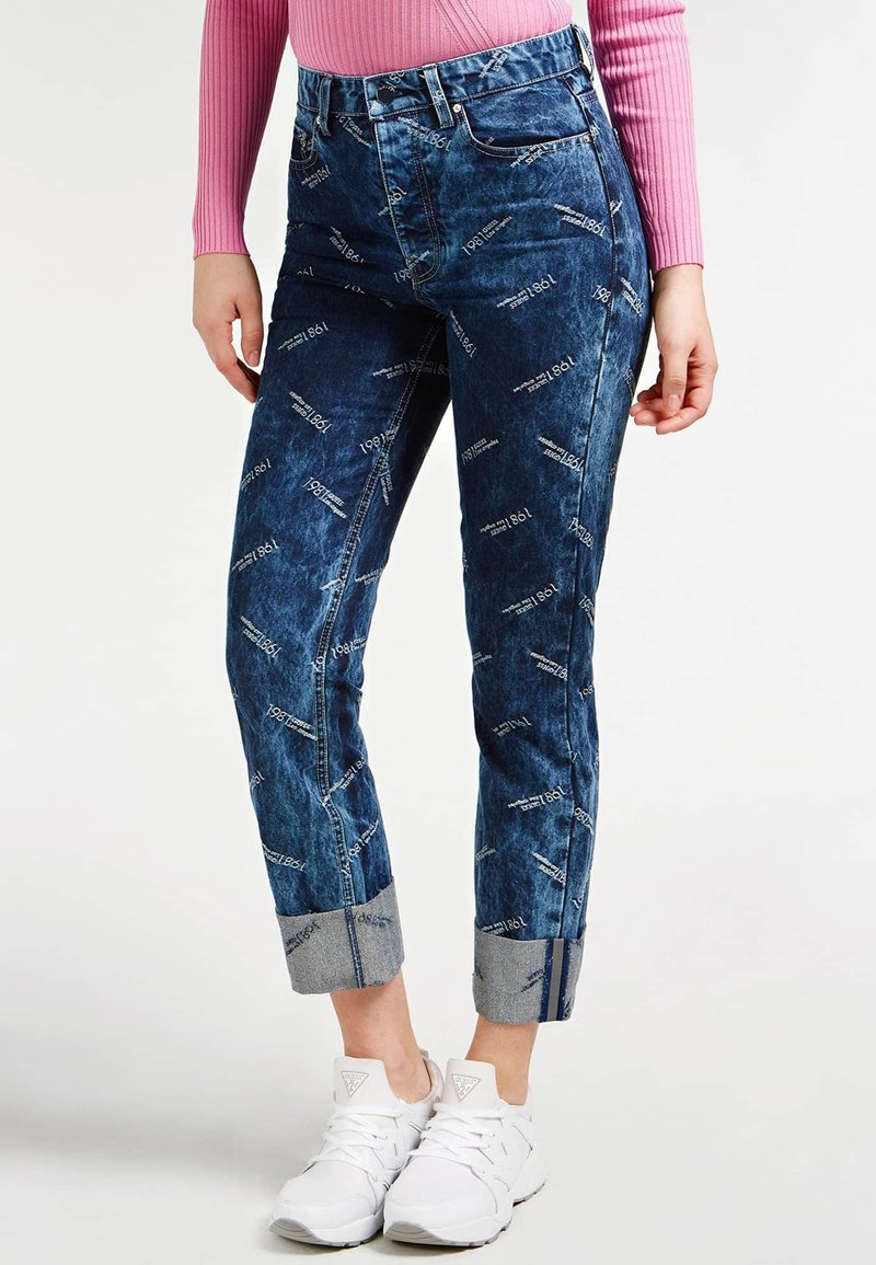 Guess - Relaxed fit jeans - blau