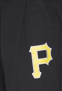 Champion - MLB PREMIUM PITTSBURGH PIRATES STRAIGHT HEM PANTS - Club wear - black - 6