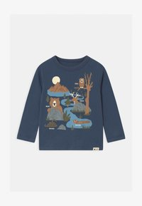 GAP - TODDLER BOY GRAPHIC - Long sleeved top - blue shade - 0
