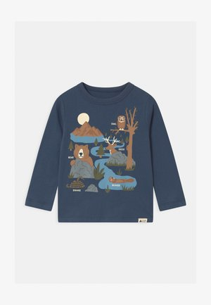 TODDLER BOY GRAPHIC - Long sleeved top - blue shade