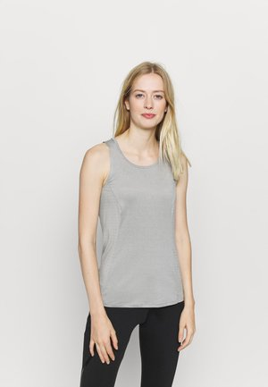 HYPER LOOSE FIT TANK - Toppi - grey