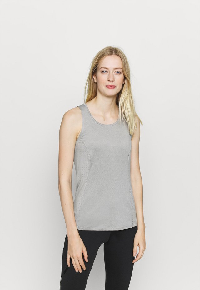 HYPER LOOSE FIT TANK - Top - grey