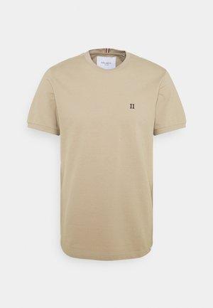 Basic T-shirt - dark sand