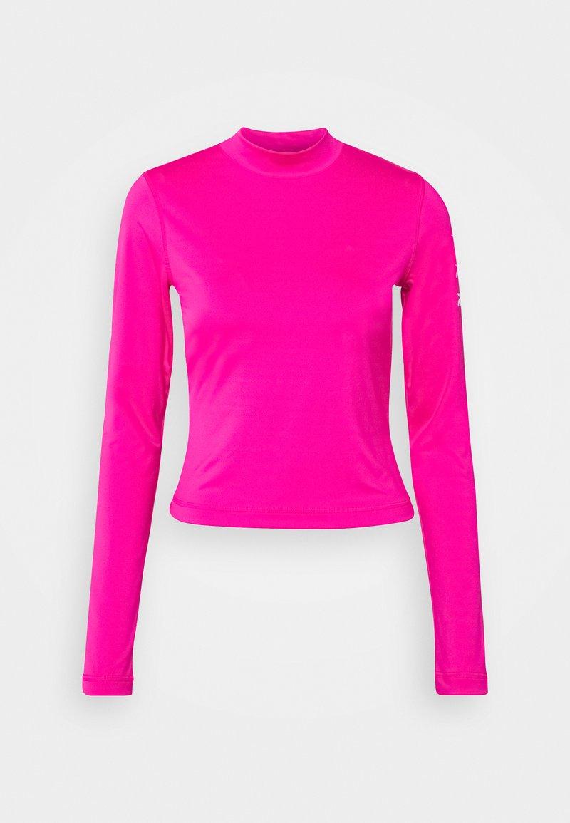 Reebok - LONG SLEEVE - Long sleeved top - pink
