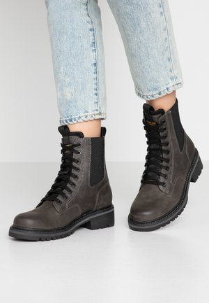 CORE BOOT II - Lace-up ankle boots - shadow