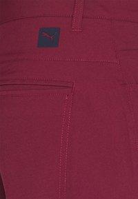 Puma Golf - JACKPOT 5 POCKET PANT - Trousers - zinfandel - 2