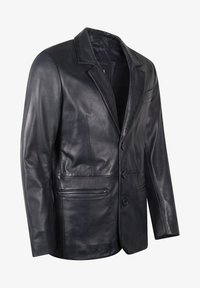 LEATHER HYPE - HYPE BLAZER - Leather jacket - royal blue - 3
