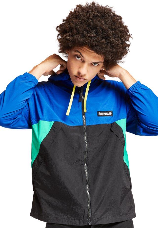 Summer jacket - deep mint/black