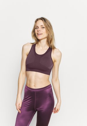 THE MOTION SEAMLESS - Light support sports bra - chinese violet
