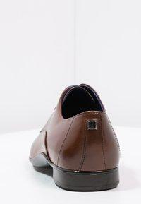 Azzaro - OUTINO - Smart lace-ups - cognac - 3