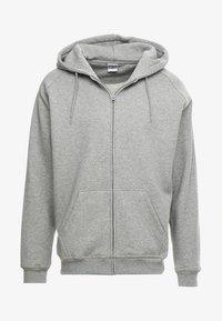 ZIP HOODY - Mikina na zip - grey