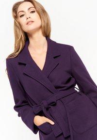 LolaLiza - Trenchcoat - purple - 3