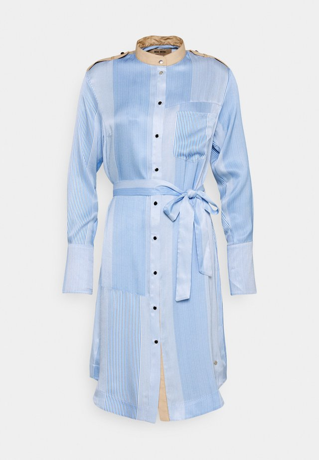 RORY ISLAND DRESS - Skjortekjole - bel air blue