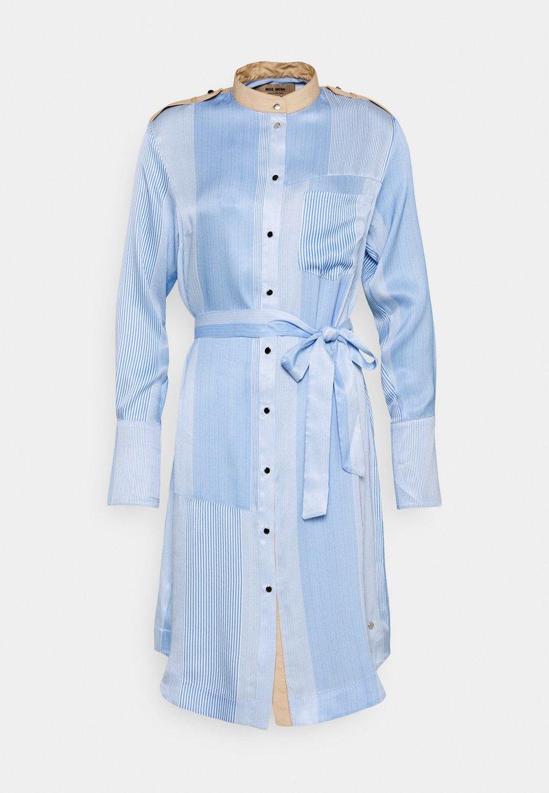 Mos Mosh - RORY ISLAND DRESS - Robe chemise - bel air blue
