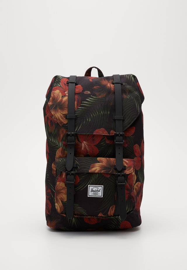 LITTLE AMERICA MID VOLUME - Tagesrucksack - tropical hibiscus