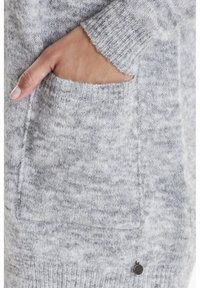 Fransa - FREMALLY - Cardigan - light grey melange - 4