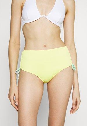REVERSIBLE ANTONIA HIGH WAIST PANT - Bikinibroekje - lemon/green