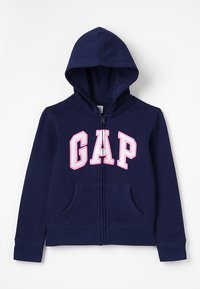 GAP - GIRLS ACTIVE LOGO - Mikina na zip - elysian blue - 0