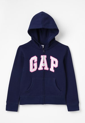 GIRLS ACTIVE LOGO - Sweatjacke - elysian blue